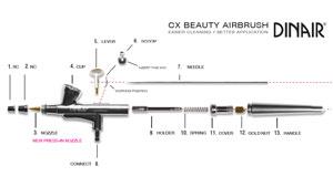 Airbrush Makeup   Airbush CX