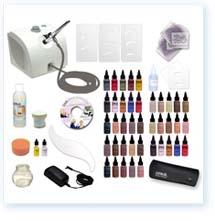 Airbrush Makeup Deluxe 40 kit