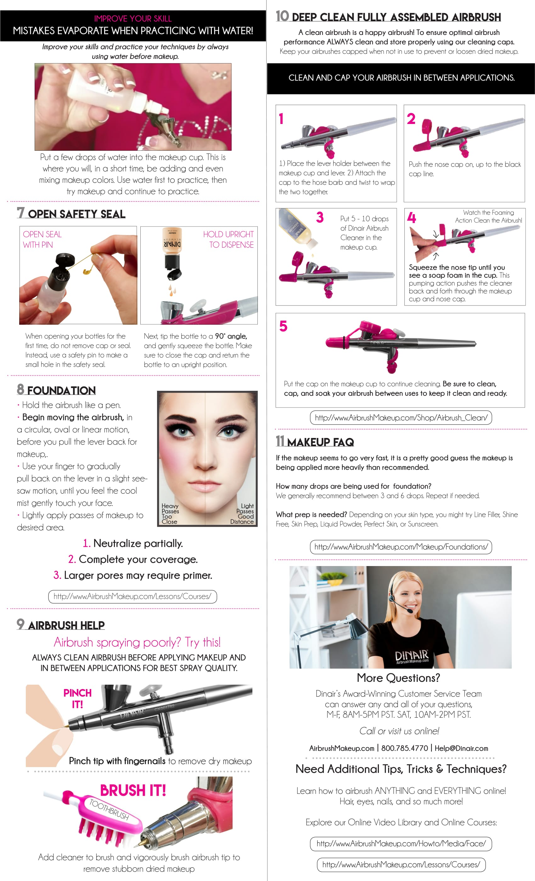 Studio Pro Kit Dinair Airbrush Makeup Lt High Definition Perfect Foundation 30 Ml Download User Guide