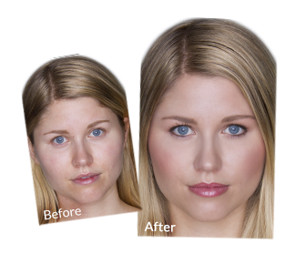 Before And After Airbrush Makeup Pictures