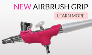 New Airbrush Grip - Learn More