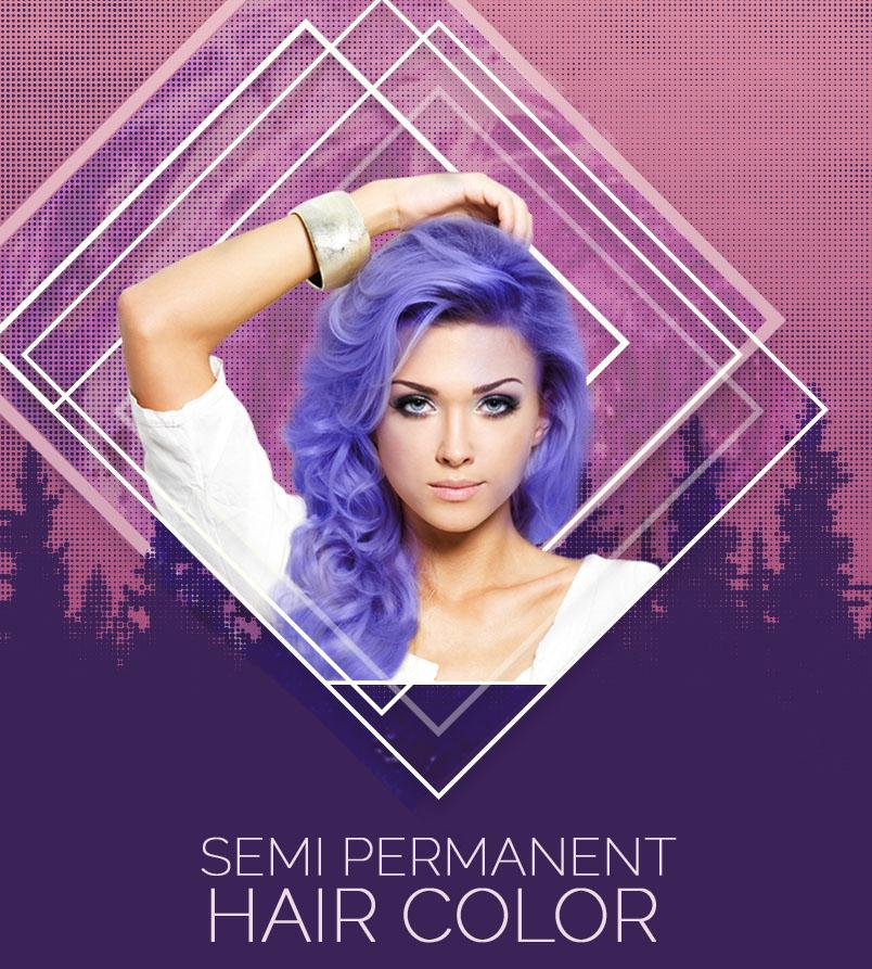 Sem-Perm Hair