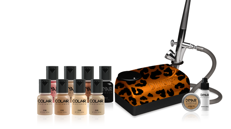 Designer color leopard